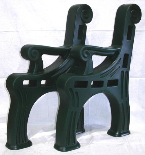 Outdoor plastic chair - Bench Rotobench Indoor Or Outdoor Bench Plastic Bench