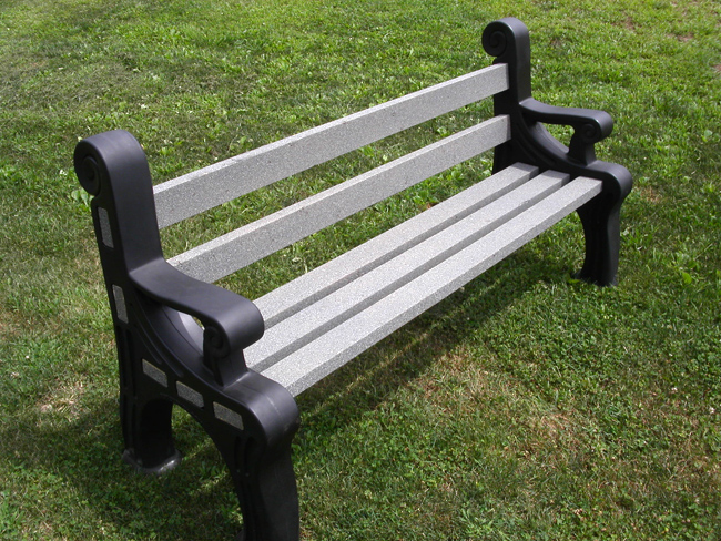 Advertising Bench Rotobench Indoor Or Outdoor Bench Plastic Bench